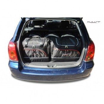 Tailored suitcase kit for Toyota Avensis Touring Sports (2003 - 2006)