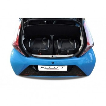 Tailored suitcase kit for Toyota Aygo (2014 - 2018)