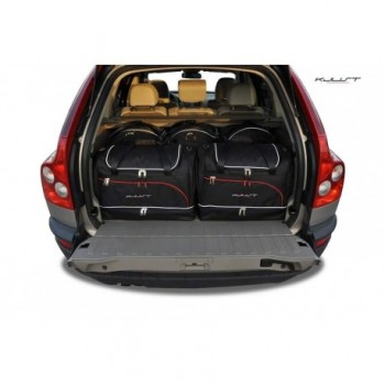 Tailored suitcase kit for Volvo XC90 5 seats (2002 - 2015)