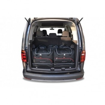 Tailored suitcase kit for Volkswagen Caddy 4K, 5 seats (2016-Current)