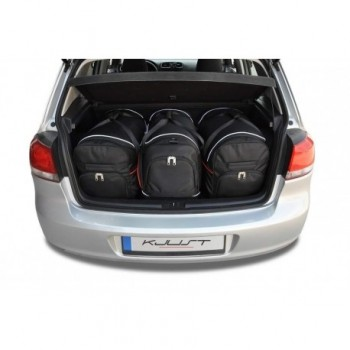 Tailored suitcase kit for Volkswagen Golf 6 (2008 - 2012)