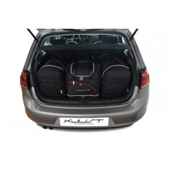 Tailored suitcase kit for Volkswagen Golf 7 (2012 - Current)
