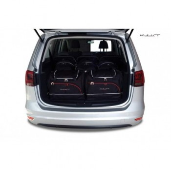 Tailored suitcase kit for Volkswagen Sharan 5 seats (2010 - Current)
