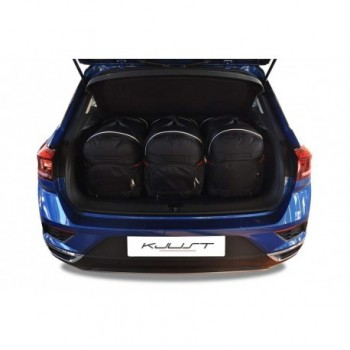 Tailored suitcase kit for Volkswagen T-Roc