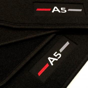 Audi A5 F5A Sportback (2017 - current) tailored logo car mats