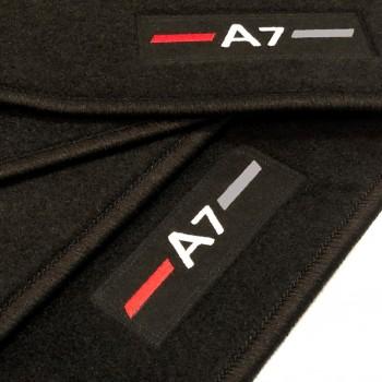 Audi A7 tailored logo (2010-2017) car mats
