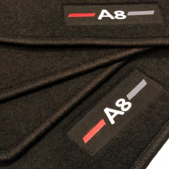 Audi A8 D3/4E (2003-2010) tailored logo car mats