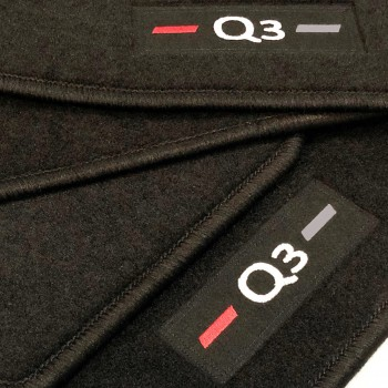 Audi Q3 tailored logo (2011-2018) car mats