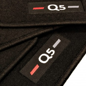 Audi Q5 FY (2017 - current) tailored logo car mats