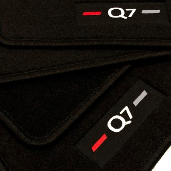 Audi Q7 4M 7 seats (2015 - current) tailored logo car mats