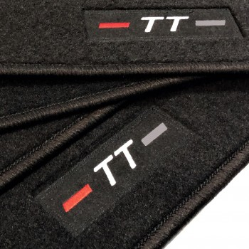 Audi TT 8S (2014 - current) tailored logo car mats