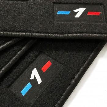 BMW 1 Series E81 3 doors (2007 - 2012) tailored logo car mats