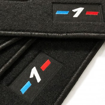 BMW 1 Series E87 5 doors (2004 - 2011) tailored logo car mats