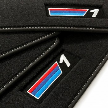 BMW 1 Series E88 Cabriolet (2008 - 2014) Velour M Competition car mats