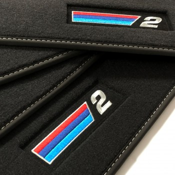 BMW 2 Series F22 Coupé (2014 - current) Velour M Competition car mats