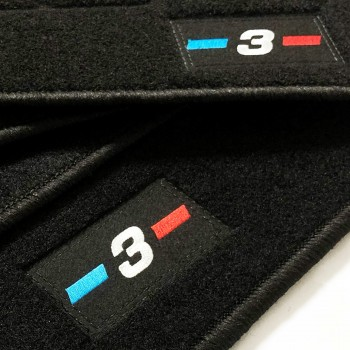 BMW 3 Series E36 Cabriolet (1993 - 1999) tailored logo car mats