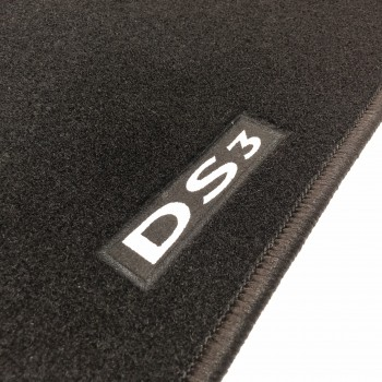 Citroen DS3 (2010 - current) tailored logo car mats