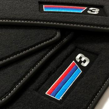 BMW 3 Series E92 Coupé (2006 - 2013) Velour M Competition car mats