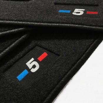 BMW 5 Series GT F07 xDrive Gran Turismo (2009 - 2017) tailored logo car mats