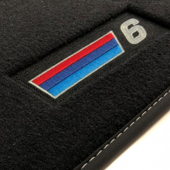 BMW 6 Series F06 Gran Coupé (2012 - current) Velour M Competition car mats