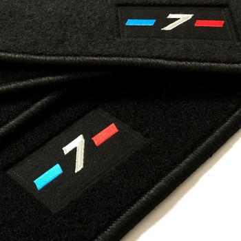 BMW 7 Series F01 short (2009-2015) tailored logo car mats