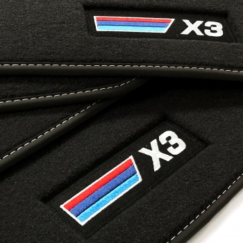 BMW X3 F25 (2010 - 2017) Velour M Competition car mats