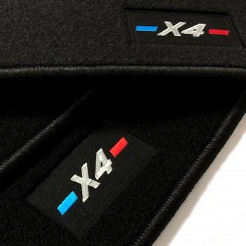 BMW X4 tailored logo (2014-2018) car mats