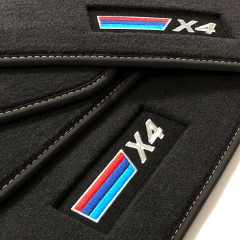 BMW X4 G02 (2018-current) Velour M-Competition car mats