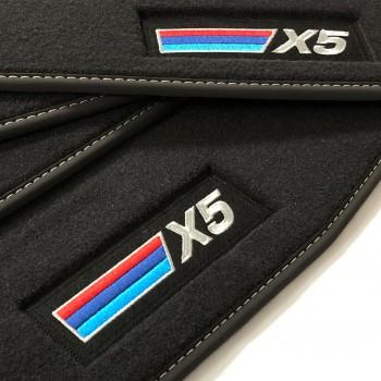 BMW X5 E70 (2007 - 2013) Velour M Competition car mats