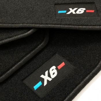 BMW X6 F16 (2014 - 2018) tailored logo car mats