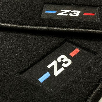 BMW Z3 tailored logo car mats