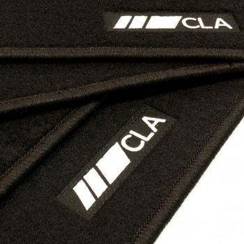 Mercedes CLA C117 Coupé (2013 - 2018) tailored logo car mats
