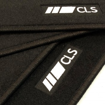 Mercedes CLS C257 (2018 - current) tailored logo car mats