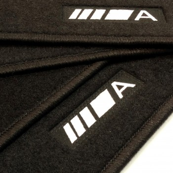 Mercedes A-Class W168 (1997 - 2004) tailored logo car mats