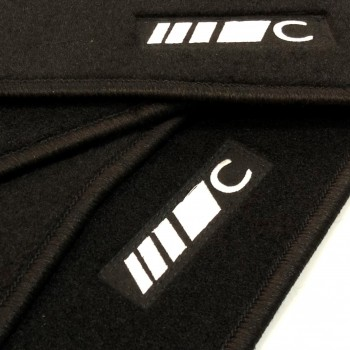Mercedes C-Class CL203 Coupé (2000 - 2008) tailored logo car mats