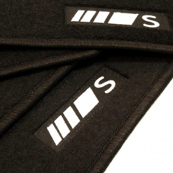 Mercedes S-Class C217 Coupé (2014 - current) tailored logo car mats
