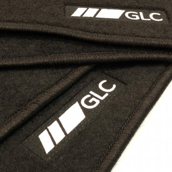 Mercedes GLC X253 SUV (2015 - current) tailored logo car mats