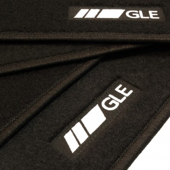 Mercedes GLE V167 (2019 - current) tailored logo car mats
