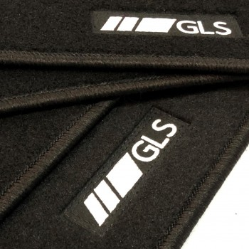 Mercedes GLS X166 7 seats (2016 - current) tailored logo car mats
