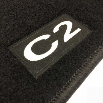 Citroen C2 tailored logo car mats