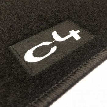 Citroen C4 (2010 - current) tailored logo car mats