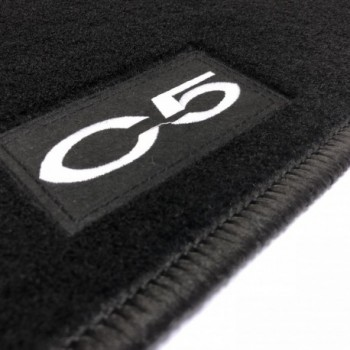 Citroen C5 Tourer (2008 - 2017) tailored logo car mats