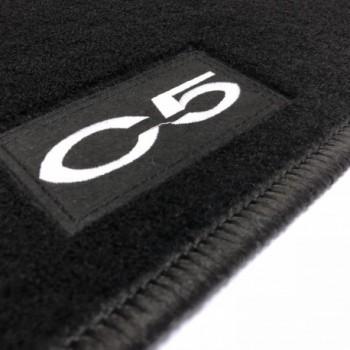 Citroen C5 Tourer (2008 - 2017) tailored logo car mats