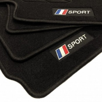 France flag Jaguar XJ (2009 - Current) floor mats