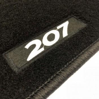 Peugeot 207 touring (2006 - 2012) tailored logo car mats