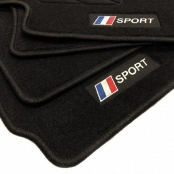 France flag Peugeot 5008 7 seats (2009 - 2017) floor mats