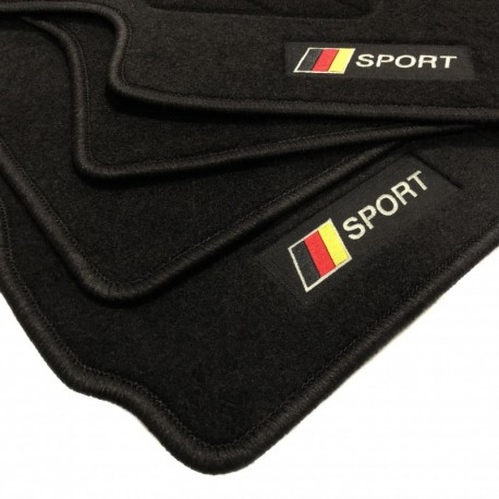 Germany flag Volkswagen Touareg (2010 - 2018) floor mats