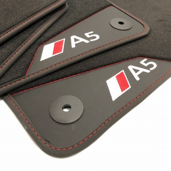 Audi A5 8F7 Cabriolet (2009 - 2017) leather car mats