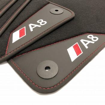 Audi A8 D3 / 4E (2003-2010) leather car mats