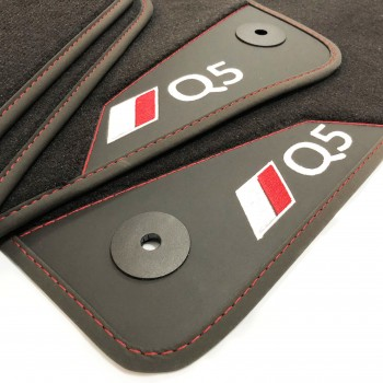 Audi Q5 8R (2008 - 2016) leather car mats